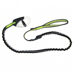 Longe Racing 2m Elastique-1 Mousqueton SPINLOCK