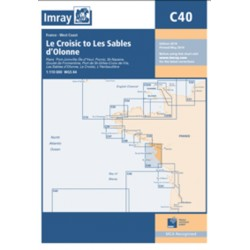 Carte Imray C40 CROISIC - SABLES D'OLONNE