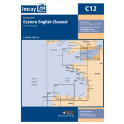 Carte Imray C12 Eastern English Channel Passage Chart
