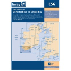 Carte Imray C56 Irlande: Cork Harbour to Dingle Bay