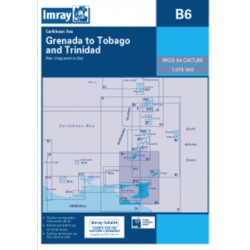 Carte Imray B6 Grenada to Tobago and Trinidad