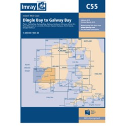 Carte Imray C55 Irlande: Dingle Bay to Galway Bay