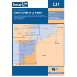 Carte Imray C31 Dover Strait to Le Havre