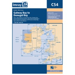Carte Imray C54 Irlande: Galway Bay to Donegal Bay