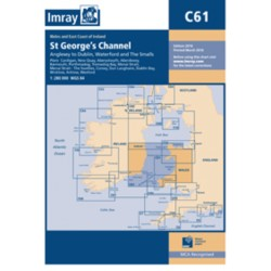 Carte Imray C61 Irlande / Galle: St George's Channel / Canal St Georges