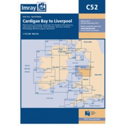 Carte Imray C52 Cardigan Bay to Liverpool