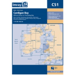 Carte Imray C51 Cardigan Bay