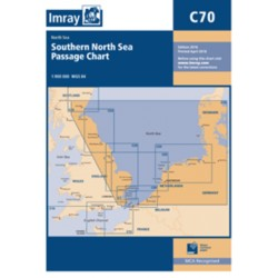 Carte Imray C70 SOUTHERN NORTH SEA / Mer du Nord partie Sud