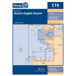 Carte Imray C10 Angleterre : Western English Channel Passage Chart