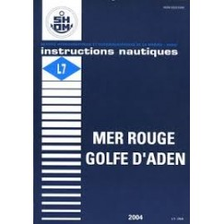Instruction Nautique Shom : Mer Rouge - Golfe d'Aden