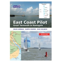 Guide Nautique Imray : East Coast Pilot Great Yarmouth to Ramsgate