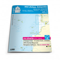 NV Atlas ATL3 Atlantic Islands / Madeira - Canary Islands - Azores - Cape Verdes