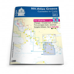 NV Atlas Greece GR2 - Cyclades to Crete & Athens
