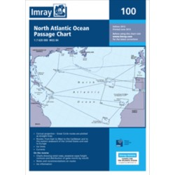 Carte Imray 100 NORTH ATLANTIC OCEAN PASSAGE CHART