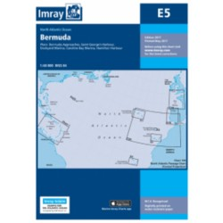 Carte Imray E5 Bermuda