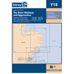Carte Imray Y18 Angleterre: The river Medway & approaches
