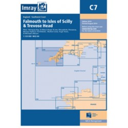 Carte Imray C7 Angleterre: Falmouth to Isles of Scilly & Trevose Head