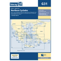 Carte Imray G31 Grèce: Northern Cyclades