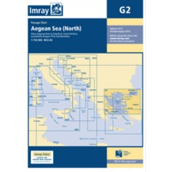 Carte Imray G2 Grèce: Aegean Sea North / Mer Egée partie Nord