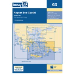 Carte Imray G3 Grèce: Aegean Sea South / Mer Egée partie Sud
