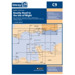 Carte Imray C9 Angleterre: Beachy Head to the Isle of Wight