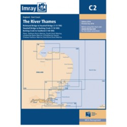 Carte Imray C2 Angleterre: the River Thames / La Tamise
