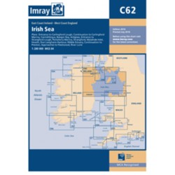 Carte Imray C62 Irish Sea / Mer d'Irlande