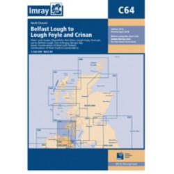 Carte Imray C64 Ecosse / Irlande: North Channel, Belfast Lough to Lough Foyle and Crinan
