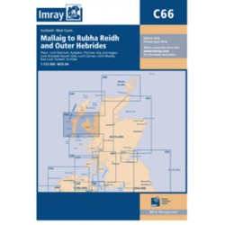 Carte Imray C66 Ecosse: Mallaig to Rudha Reidh and Outer Hebrides