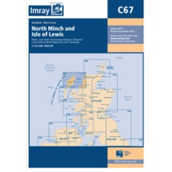 Carte Imray C67 Ecosse: North Minch to Isle of Lewis