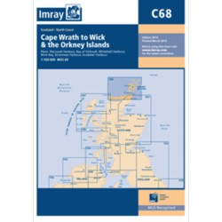 Carte Imray C68 Ecosse: Cape Wrath to Wick & the Orkney Islands / Iles Orcades