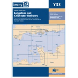 Carte Imray Y33 Angleterre: Langstone and Chichester Harbours