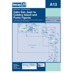Carte Imray A13 Puerto Rico South East coast