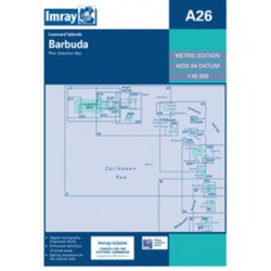 Carte Imray A26 Barbuda