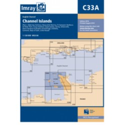 Carte Imray C33A Channel Islands / Iles Anglo-normandes