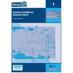 Carte Imray 1 Eastern Caribbean General Chart / Petites Antilles