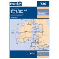 Carte Imray Y26 Pays de Galles : Milford Haven