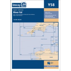 Carte Imray Angleterre : River Fal Falmouth to Truro