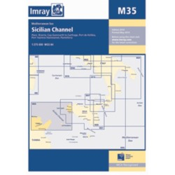 Carte Imray M35 Italie : Sicilian Channel