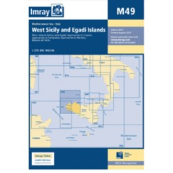 Carte Imray M49 Italie :West Sicily and Egadi Islands