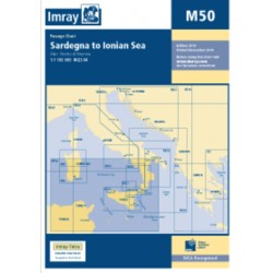 Carte Imray M50 Italie : Sardegna to Ionian Sea