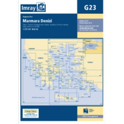 Carte Imray G23 Turquie : Marmara Denizi
