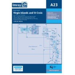 Carte Imray A23 Caraïbes : Virgin Islands and St Croix