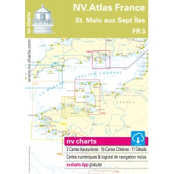 Carte NV Charts France 3 St. Malo aux Sept Îles