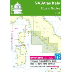 Carte NV Charts Italie IT 2 - Elba to Naples