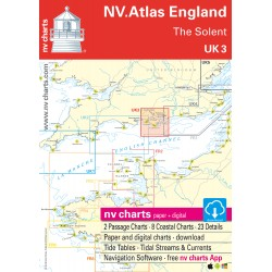 Carte NV Charts Angleterre UK 3 England The Solent