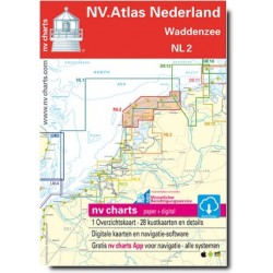 Carte NV Charts Pays-Bas NL2 - WADDENZEE