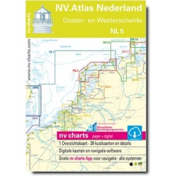 Carte NV Charts Pays-Bas NL5 - OOSTER- & WESTERSCHELDE