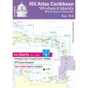 Carte NV Charts Windward Islands Reg. 12.3 Windward Islands, Martinique to Grenada