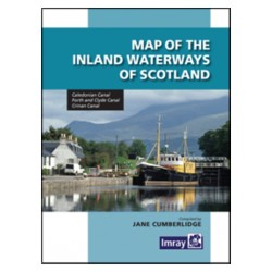 Carte Imray : Map of the Inland Waterways of Scotland